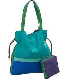 ILI 6094 Leather Drawstring Handbag Review