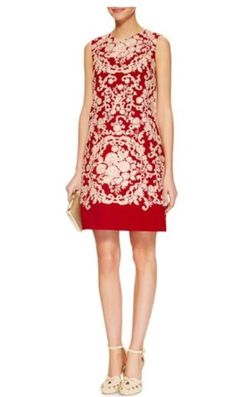 Cady Embroidered Sleeveless Shift Dress 2498€