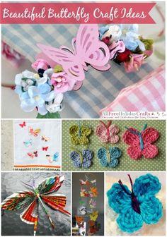 29 Beautiful Butterfly Craft Ideas