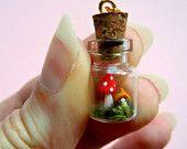 tiny tiny mushroom