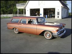 1958 Chevrolet Biscayne Station Wagon