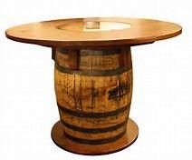 Whiskey Barrel Pub Table | Dining Room Furniture Ideas | Pinterest | Men  Cave, Whiskey Barrels And Barrels