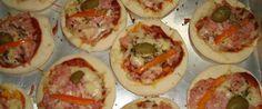 Copie a Receita de Mini pizza - Receitas Supreme