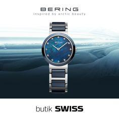 Czyste i chłodne piękno Arktyki połączone z elegancką prostotą duńskiego wzornictwa rodzi nową erę: BERING - nasz czas. Zegarek z CERAMIC COLLECTION z szafirowym szkłem odpornym na zarysowania, SWAROVSKI ELEMENTS. Zapraszamy do butiku SWISS.