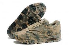 Nike Air Max 1 undervisere frankrig sp camouflage beige grønne sko
