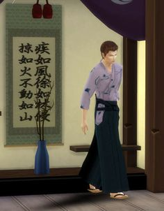 TS4 fullbody for male http://roseum.jp/html/cc/ts4/momo_ts4_amb_hakama