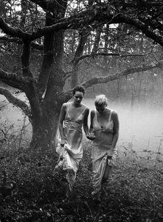 Lara Stone & Freja Beha Erichsen by Peter Lindbergh for Vogue Italia May 2016