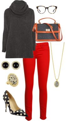 I need some red pants for the Fall/Winter season! - http://AmericasMall.com/categories/womens-wear.html