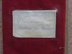 Capa do Diário de Bordo.