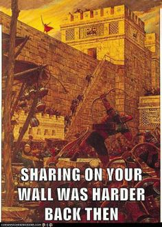 Sharing on your wall was more difficult back then. Book Of Mormon, Lds Mormon, Mormon Stories, Funny Mormon Memes, Church Humor, Church Memes, 100 Memes, Primary Singing Time, Lds Primary