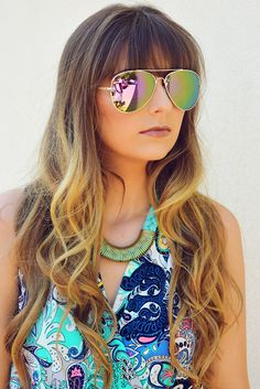 See You Around Sunglasses: Blush #shophopes