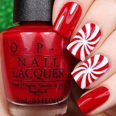 cool christmas nail art designs