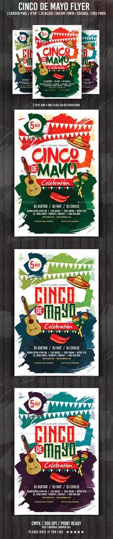 Cinco De Mayo Flyer Template PSD. Download here: http://graphicriver.net/item/cinco-de-mayo/15815237?ref=ksioks