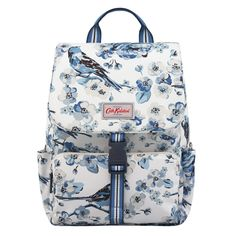 Whether you're headed on a day trip or a holiday, this backpack has space for all your essentials and comes with a matching slip case to fit a laptop. A padded, adjustable strap keeps it comfy while the side pocket is perfect for a bottle. Cath Kidston Backpack, Back To Uni, Cool Backpacks, Best Sellers, Bag Accessories, Rap, Handbags, Shoe Bag, Womens Fashion