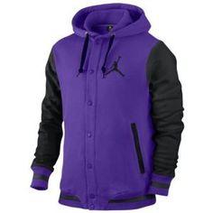 40c3638b16a511 Jordan Varsity Hoodie - Men s - Basketball - Clothing - Court  Purple Black Black  mensbasketball