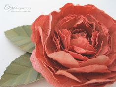 Clare's creations: Shabby Rose Tutorial (it's long!)