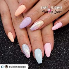 Happy Easter weekend, everyone!   Try our amazing Pastel Paints for the perfect soft and fun look! #LightElegance #LERocks  #Repost @buildandshape