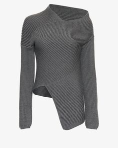 tinashe blessed best sweater | Joseph Off The Shoulder Asymmetric Ribbed…
