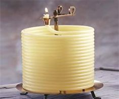 Light up your home with these coiled wax candles that will burn for 144 hours and will auto-extinguish themselves - making them safer than your traditional candle where you have to worry about blowing them out when you aren't at home.