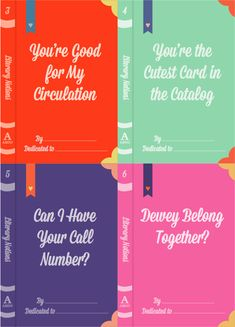 Need valentines for all of your bookish friends? Look no further!
