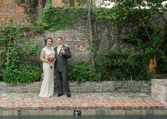 Courtyard wedding at the Audubon Cottages - French Quarter - www.auduboncottages.com New Orleans Elopement Photographer Pamela Reed