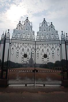 Delhi Palace iron door