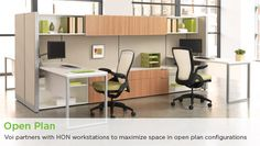 HON's Voi Laminate Desking. Learn more at www.hon.com.