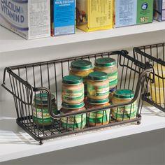 Basket Organizer for Pantry Storage