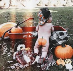 Pumpkin baby trucker hat Fall Baby photshoot The Effective Pictures We Offer You About Fall Baby Pictures, Baby Boy Photos, Newborn Photos, Halloween Baby Pictures, Baby Pumpkin Pictures, George Hats, Baby George, Baby First Halloween, Baby In Pumpkin