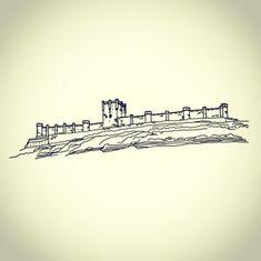Castillo de Peñafiel! de Valladolid,  vinilo para decorar que quedará espectacular en tu salón, elige el color que más te guste para la pared elegida!! #Castillopeñafiel #Valladolid #castillayleon #vinilodecorativo #vinilohistorico #amigoinvisible #invisiblesanta