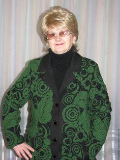 "Пальто вязаное ""Весеннее цветение"", пальто демисезонное - Надежда Тарубарова - Ярмарка Мастеров http://www.livemaster.ru/item/13552681-odezhda-palto-vyazanoe-vesennee-tsvetenie"