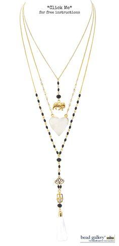 Collar De Bisuteria Fina Cristal Cortado Perla Natural