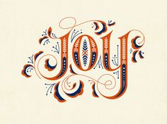betype: Joy by Clairice Gifford
