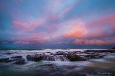 Jeffreys Bay, South Africa Sunset Seascape