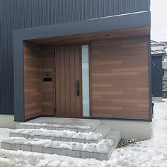 house and home decor Modern Entrance Door, House Exterior, House Outside Design, House Entrance, House Extension Design, Facade Design, Door Gate Design, Modern Fence Design, Porch Design