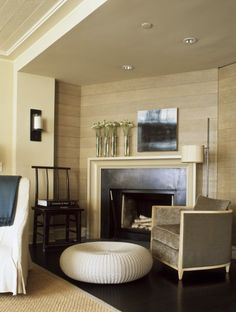 McAlpine Booth & Ferrier Interiors Booth Residence in NYC » McAlpine Booth & Ferrier Interiors. Simple fireplace