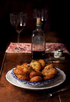Receta 59: Buñuelos de bacalao portugueses » 1080 Fotos de cocina