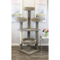 Prestige Cat Trees Main Coon Cat Tower Cat Tree -- More info could be found at the image url. (This is an affiliate link)