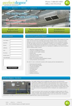 Perfect Degree Custom CMS website Designed and Developed.
