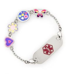 Willy Nilly Medical ID Bracelet