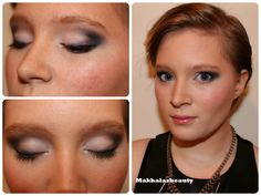 Deep smokey eye and light lid