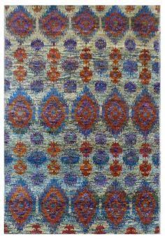 Rug Love: Sari Silk Rugs   The English Room
