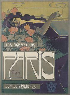 Cigarrillos parís. Aleardo Villa, 1901