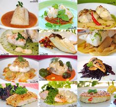 Doce recetas de pescado