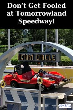 Don't Get Fooled at Tomorrowland Speedway!