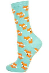 To know more about TOPSHOP Aqua Foxy Fox Ankle Socks, visit Sumally, a social network that gathers together all the wanted things in the world! Featuring over other TOPSHOP items too! Fox Socks, Silly Socks, Crazy Socks, Funny Socks, Cute Socks, Kids Socks, Awesome Socks, Only Shoes, Novelty Socks
