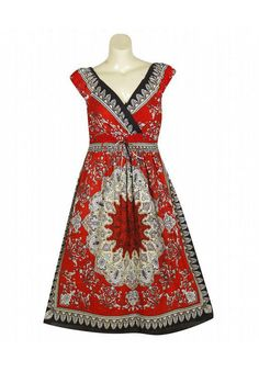i love dresses you can throw on and they are instantly comfy and cute. love this print.