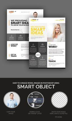 Corporate/Marketing Flyer Design Set #flyerdesign #photoshopflyer #psdflyers…