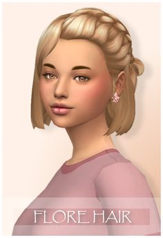 wondercarlotta: Flore Hair BGC All 18 EA swatches Tested in game Teen to elder Hat compatible Custom thumbnail Feel fr Maxis, Sims 4 Cc Packs, Sims 4 Mm Cc, Los Sims 4 Mods, The Sims 4 Cabelos, Pelo Sims, Sims Hair, Sims 4 Cas, Sims 4 Cc Finds
