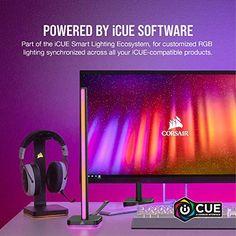 Corsair iCUE LT100 Smart Lighting Tower Starter Kit – Gameller   Gaming Gear Headset Holder, Starter Kit, Diffuser, Backdrops, Gaming, Tower, Lighting, Videogames, Rook